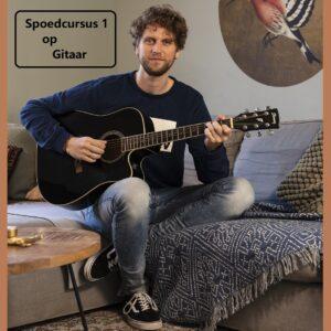 Spoedcursus 1 op gitaar
